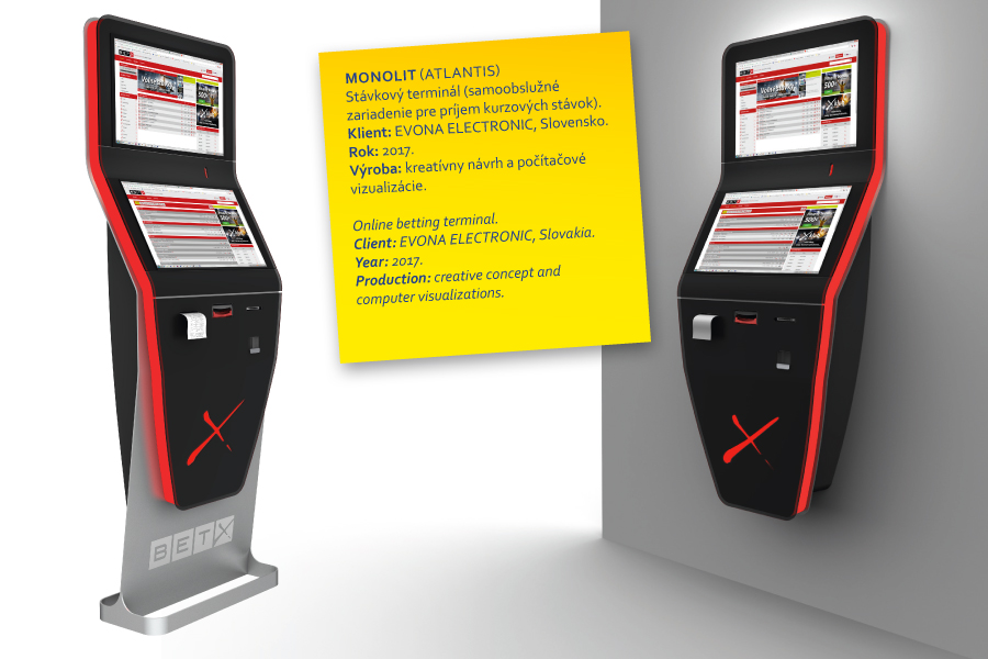 monolit online betting terminal